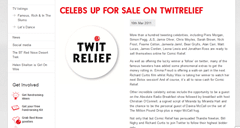 Twitter charity creates some genuine tittle-tattle