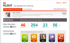 Klout - Chris Norton