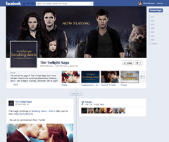 Twilight Facebook Page