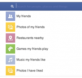 A screenshot of Facebook's Social Graph