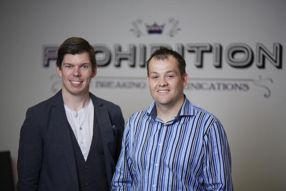 Will Ockenden (L) and Chris Norton (R)