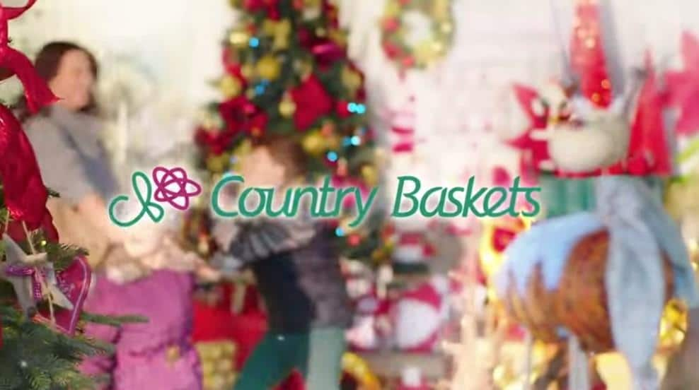 Country Baskets kicks off Christmas with TV campaign