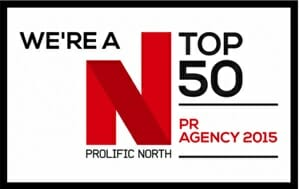 Prohibition Shortlisted in the Top 50 PR Agencies