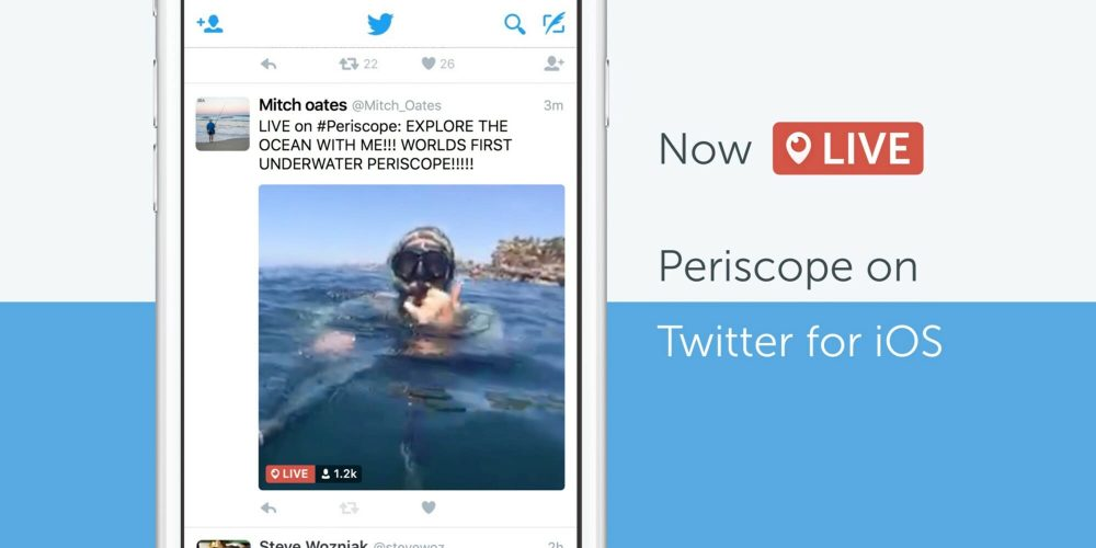 Live stream revolution: Twitter embeds periscope – what will it mean?