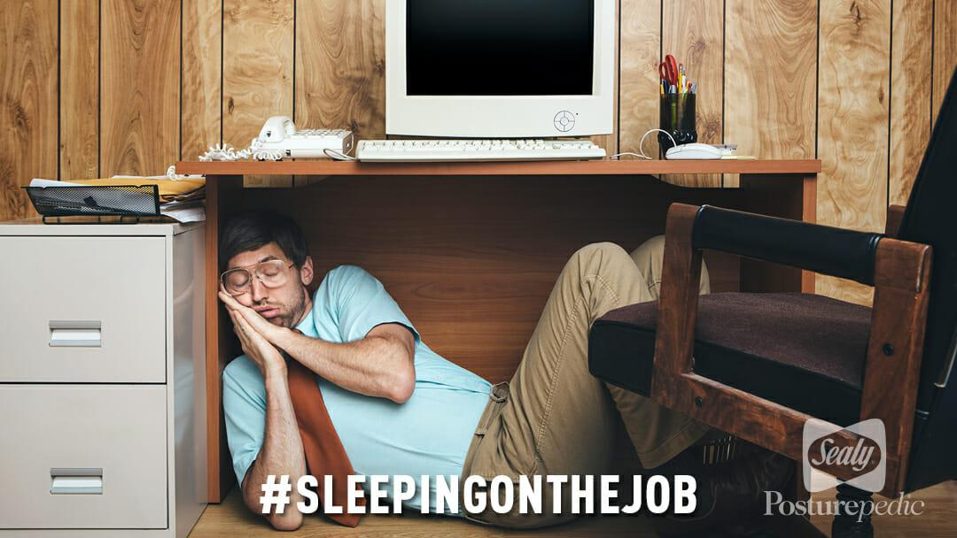 Sealy – sleeping on the job