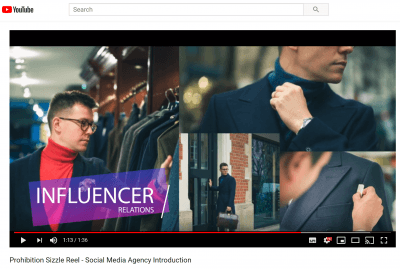 A video Introduction to Leeds Content Marketing Agency Prohibition